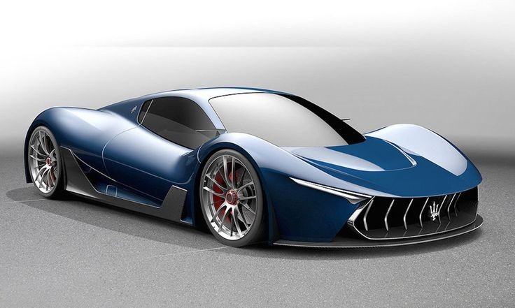 Maserati MC-63 Concept Based on Ferrari LaFerrari | Carros ...
