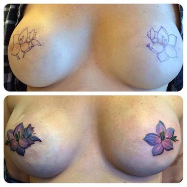The Stir-10 Breast Cancer Survivors' Mastectomy Tattoos That Are Stunning & Inspiring (PHOTOS)