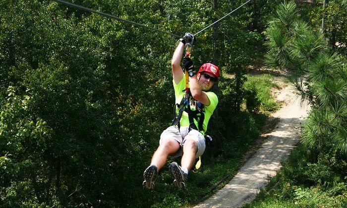 Zipline Tour - Kersey Valley Zipline | Groupon