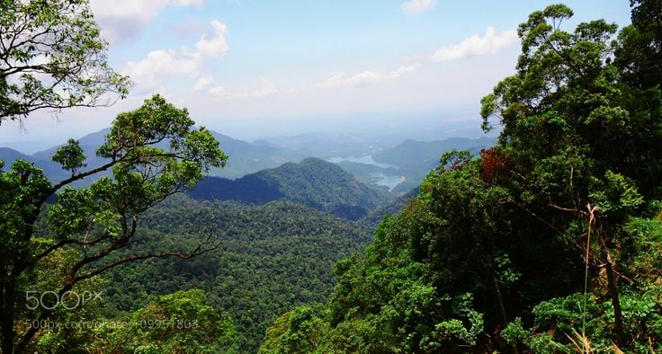 Bach Ma National Park by free3yourmind with parklakenaturecloudsviewvietnamnationalbach ma