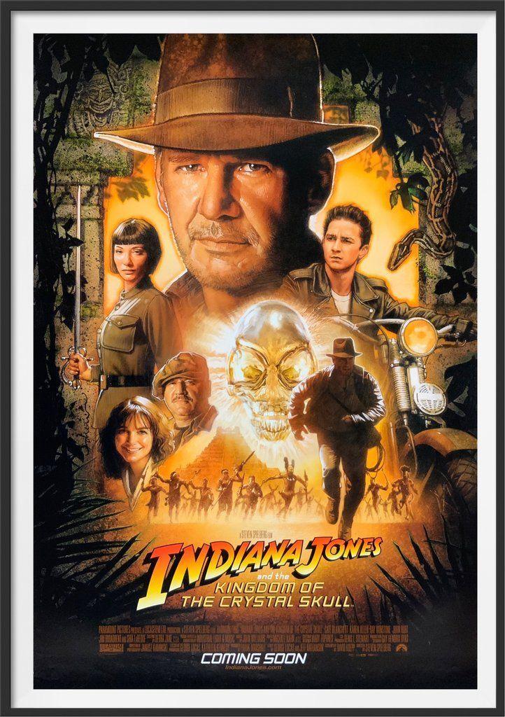 Indiana Jones And The Kingdom Of The Crystal Skull 2008 Di 2020 Indiana Jones Film Petualangan Bioskop
