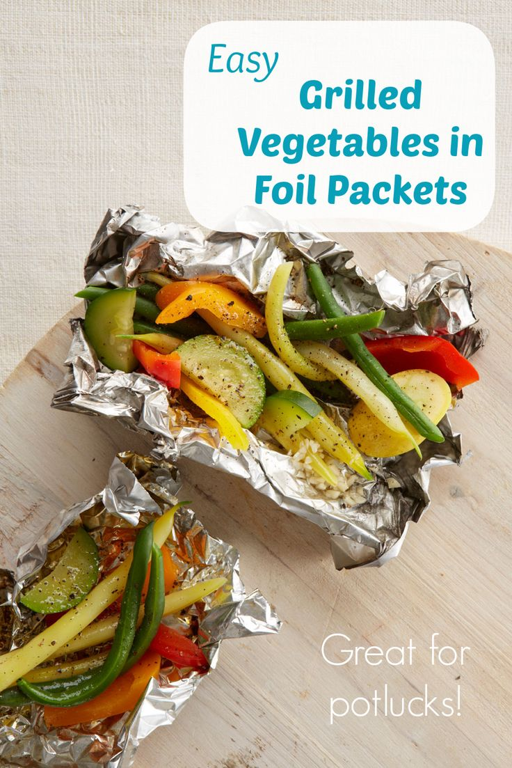 252 best get grilling images on pinterest cooking for Chicken and vegetables in foil packets recipe
