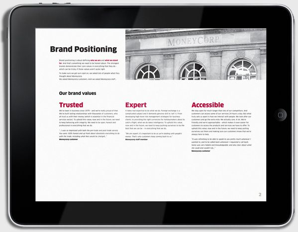 MONEYCORP REBRAND & DIGITAL GUIDELINES by Paul Clutterbuck, via Behance