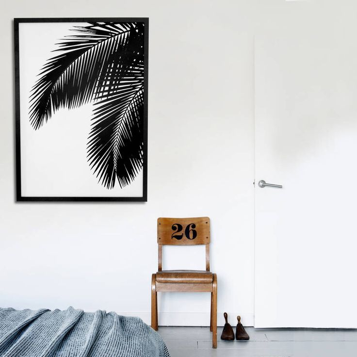 I've just found Palm Leaves Print. Striking Palm Art Print. £35.00