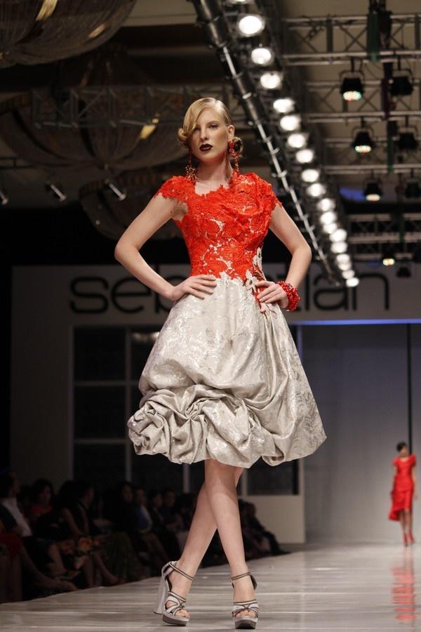 by sebastian gunawan..love the lace