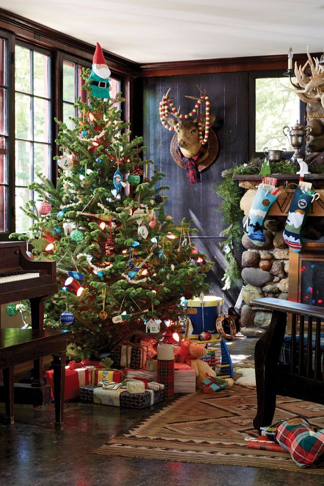 801 Best Vintage Camp Style Images On Pinterest Bedroom House  - Camp Christmas Tree