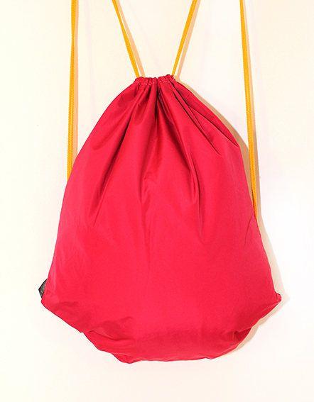 Barbie Pink waterproof drawstring bag backpack by PopaStore on Etsy