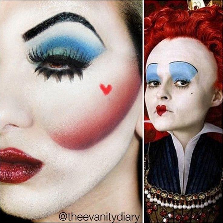 Queen-Of-Hearts-Halloween-Makeup.jpg 753×752 pixels