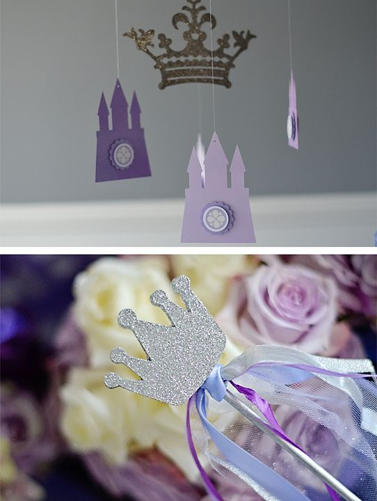 Sofia The First - party decor and accents