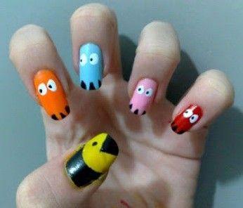 pacman nagels  !