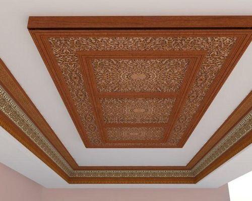 Les 25 meilleures id es de la cat gorie faux plafond platre sur pinterest plafond en platre for Modele sallon en bois