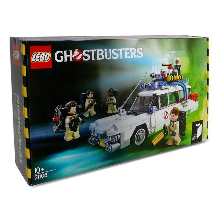 Lego Coche ECTO-1. 508 piezas. Los Cazafantasmas Estupendo coche réplica del ECTO-1, el conocido y popular coche de los incansables Los Cazafantasmas, en un entretenido juego de Lego con 508 piezas.