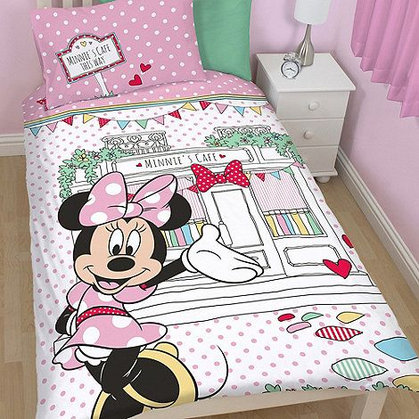 Minnie Mouse Children's pink 'Minnie Mouse' bedding set- at Debenhams.com