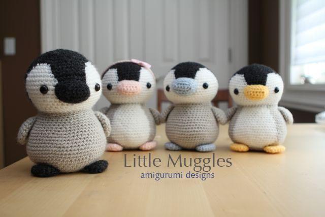 Crocheting: Amigurumi Pattern - Pippin the Penguin -- $4.99