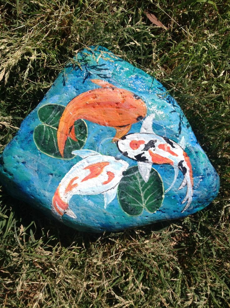 1000 ideas about river rock gardens on pinterest garden for Koi pond rocks