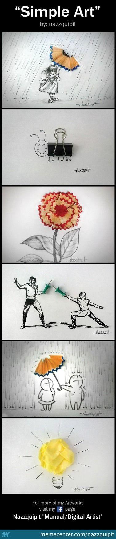 Simple Art - Meme Center