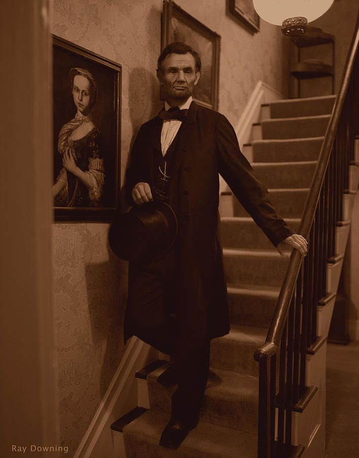 Abraham Lincoln, 16th President.