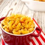 When you need comfort food, try this creamy homemade mac and cheese #recipe for fewer calories and much better taste.