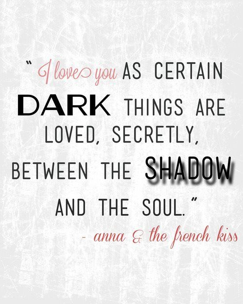 A quote from Anna & The French Kiss