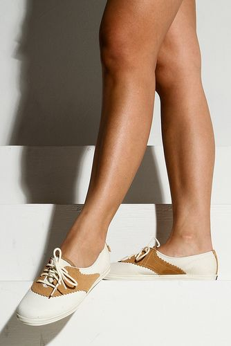 Keds saddle shoes... perfect for swing dancing!