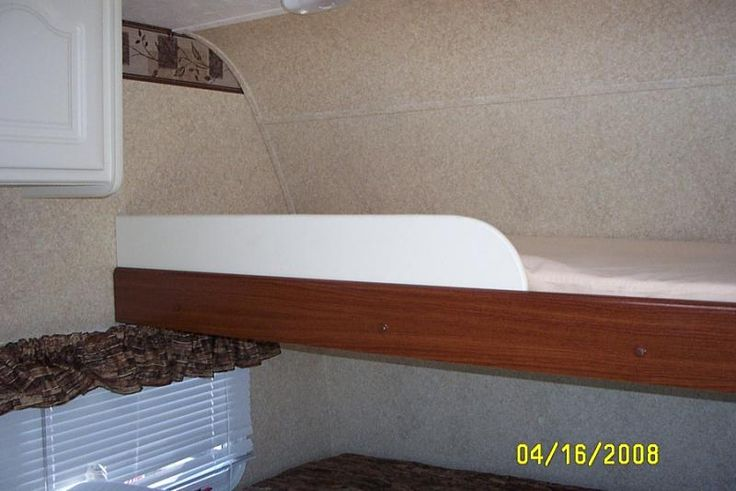 Bed rail for bunks