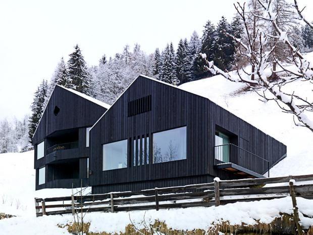 Hanghäuser Modern 294 best architektur black images on apartments modern