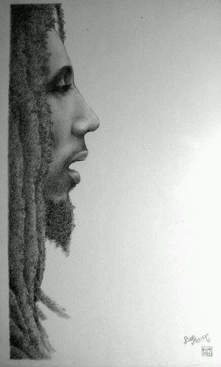 Bob Marley, by Joaquim Cruz