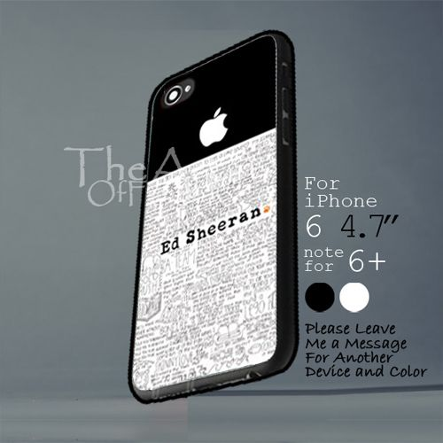 ed sheeran Iphone 6 note for 6 Plus