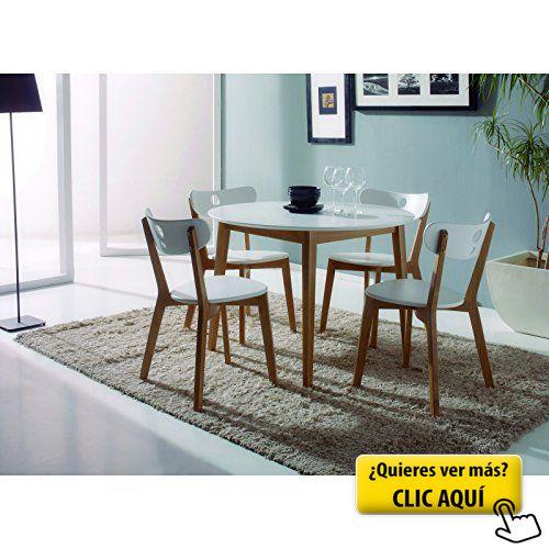 mesa redonda cocina lacado en blanco dimetro mesa redonda