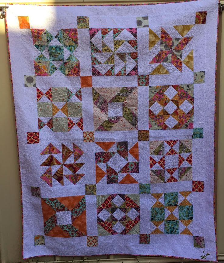 Sea Breeze Quilts: First Finish for the Year