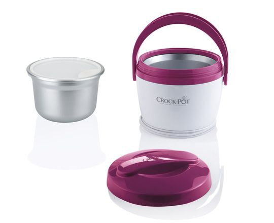 Crock-Pot® Lunch Crock® Warmer  So cool!  You slowly warm your lunch while you work :)