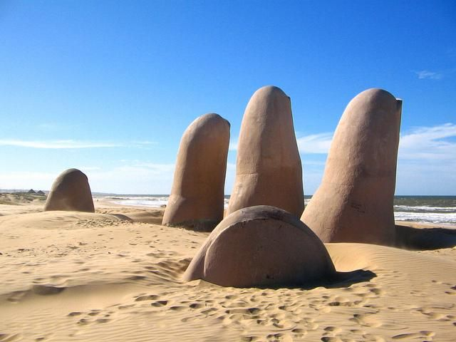 Happy Sunday from Parada 4 at Brava Beach, Punta del Este, Uruguay - South America!