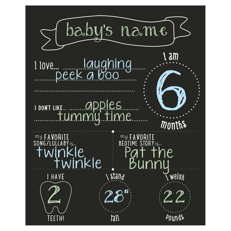 Have fun sharing your baby's favorites and growth every month of their first year with Pearhead's all about baby chalkboard. This photo-sharing chalkboard includes four pieces of colored chalk and is completely customizable and reusable from month to month. It makes an excellent baby shower gift or as a gift for new parents, grandparents, aunts, uncles or other loved ones. Also makes a great baby registry item!