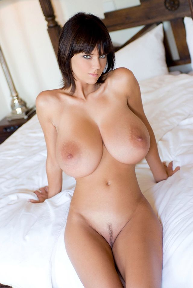 With big tits nude
