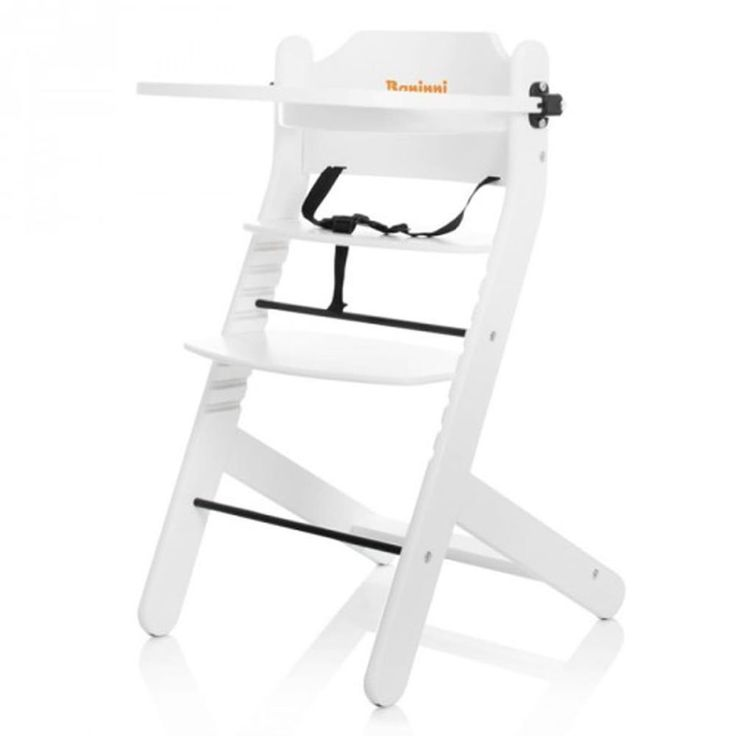 Adjustable Baby High Chair Infant Seat Child Toddler Safety Harness White Food #AdjustableBabyHighChair
