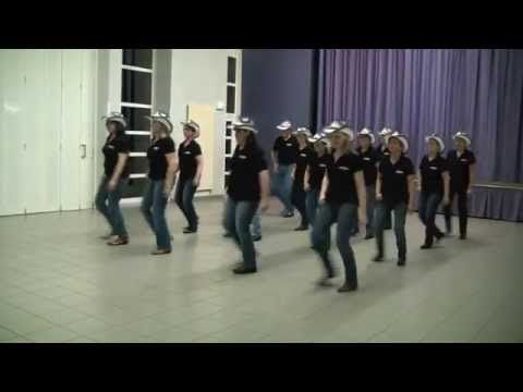 AMERICAN KIDS - New Spirit Of Country Dance - line dance - YouTube