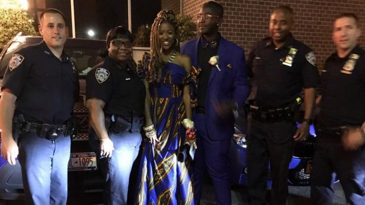 Teen Arrives to Prom With Police Escort After Her Family Lost Everything in Fire | Whitney Moore and her date even got to ride in a police chief's personal SUV.