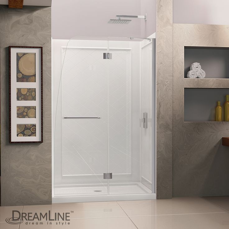 Find This Pin And More On Frameless Glass Tub Door Frameless Glass Shower Door Enclosed Shower Enclosed Tub Designs