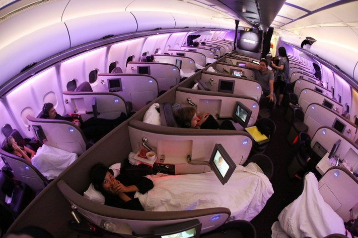Fly first class!