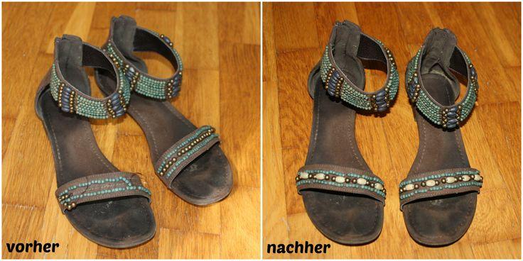 fix it - Sandalenreparatur durch upcycling - Schuhe reparieren - widerstandistzweckmaessig