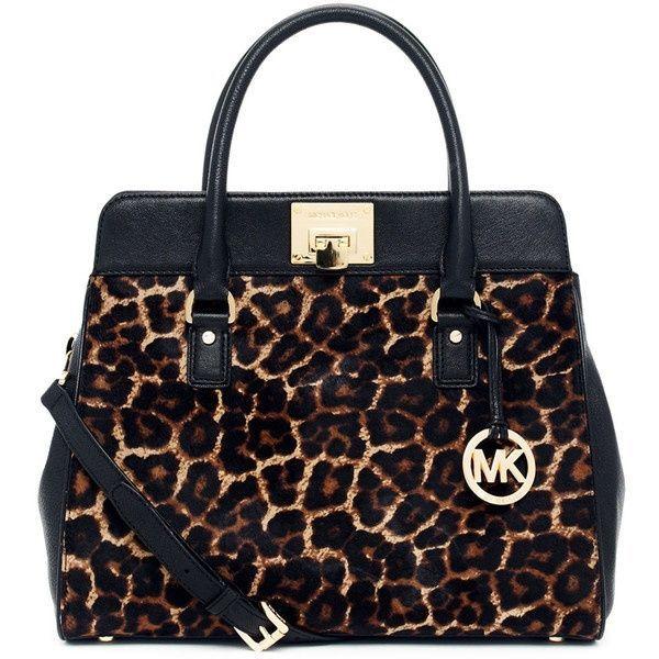 Michael Kors Leopard Handbag Fashion And Love Women S Bags Pinterest Handbags Korichael Bag