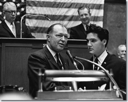 Colonel Elvis Presley Tennessee State Legislature March 8, 1961 2