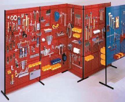 WERKS Partition Walls. Buy Workshop & Factory Online - Materials Handling - Backsafe Australia: https://www.backsafeaustralia.com.au/products/workshop-factory