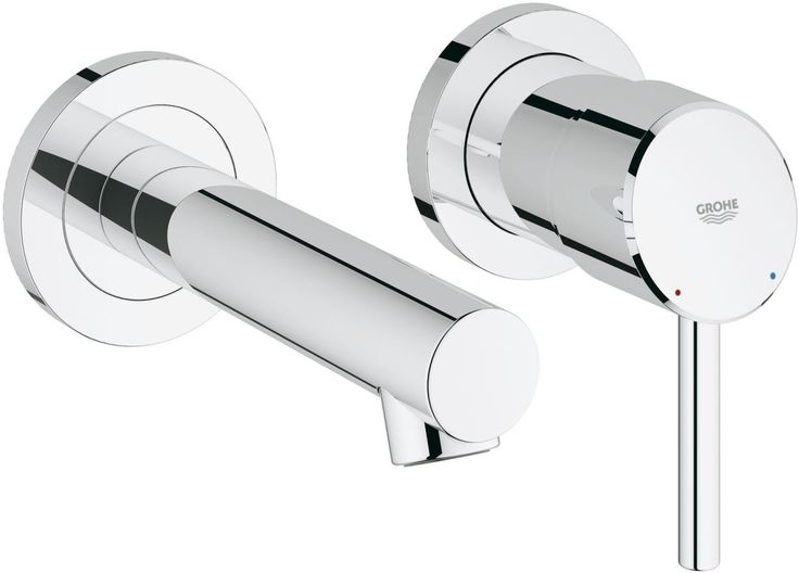Grohe Concetto Wall Mounted 2-Hole Basin Mixer 19575