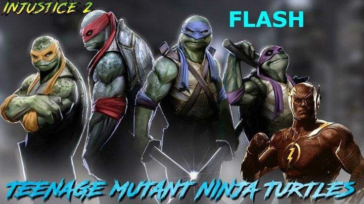 [VIDEO] [INJUSTICE 2] BEST NINJA TURTLES vs FLASH Intro DIALOGUES #Playstation4 #PS4 #Sony #videogames #playstation #gamer #games #gaming