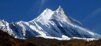 Mount Manaslu 8156m in Manaslu Photo Tour