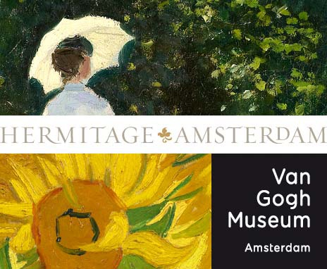 The Van Gogh Museum in the Hermitage Amsterdam