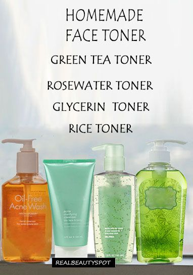 HOMEMADE FACE TONER FOR EVERY SKIN TYPE