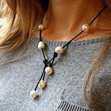 Wear it 4 Ways Necklace in Black
