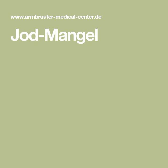 Jod-Mangel
